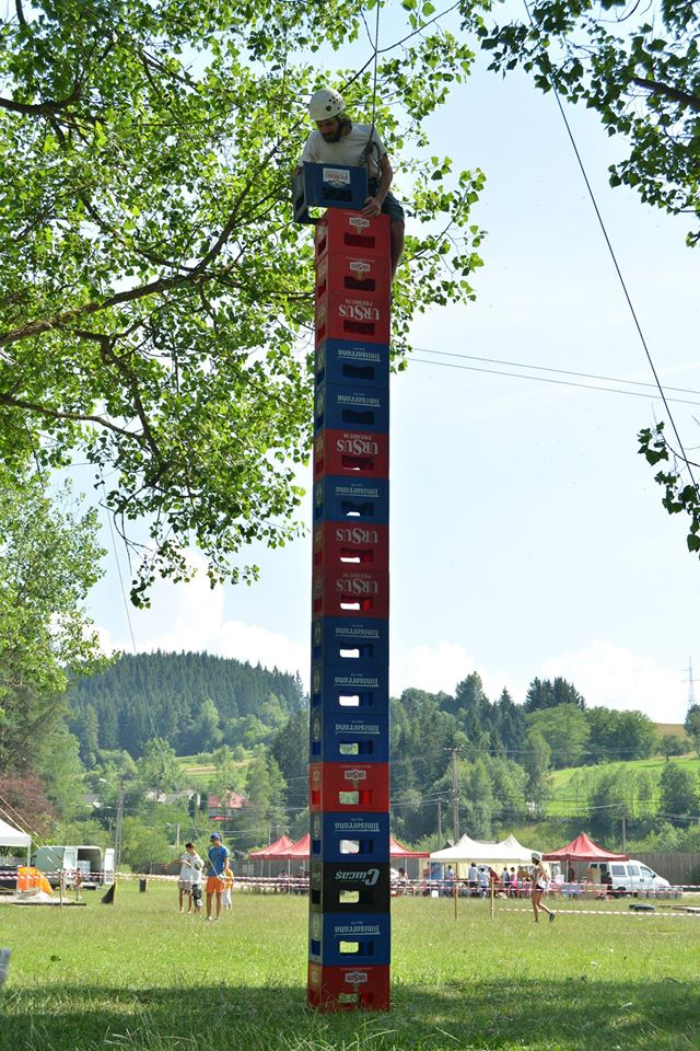 tower of beer boxes 2